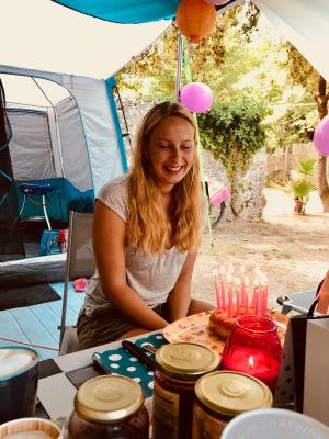 Geburtstagskind im Urlaub! Ich bin halt ein Sommermädchen :)