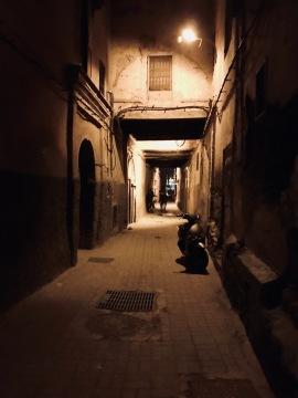 Der Weg zu unserem Riad